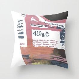 410g Throw Pillow