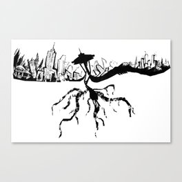 206 Canvas Print