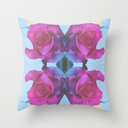 Summer Roses 2012 Throw Pillow
