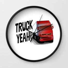 Truck Yeah Wall Clock