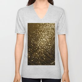 Golden Tide Unisex V-Neck