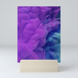 Purple Smoke Mini Art Print