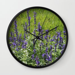 Stems of beauty Wall Clock