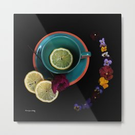 Where's My Tea? Metal Print