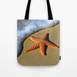 Starfish Wave Tote Bag