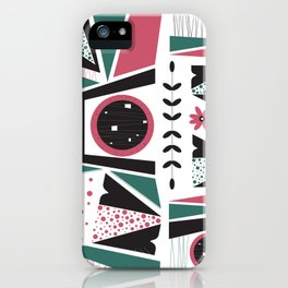 Fresh Mojo Mid-Century Modern Contemporay Design iPhone Case