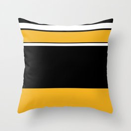 Abstractedly Daffy Throw Pillow