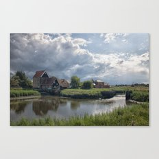 The Water Mill Canvas Print