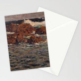Shigeru Aoki - Seascape, Mera (1904) Stationery Cards