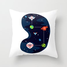 Overworld: Space Throw Pillow