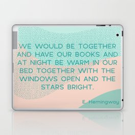 we would be together Laptop & iPad Skin