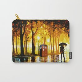Somebody Looking The Tardis Carry-All Pouch