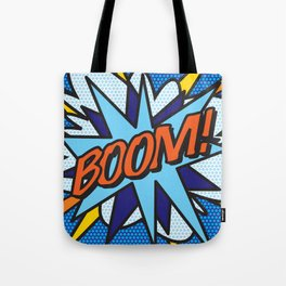 Comic Book BOOM! Tote Bag