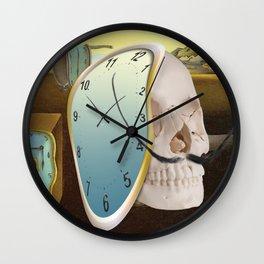Vita brevis,ars longa.Salvador. Wall Clock