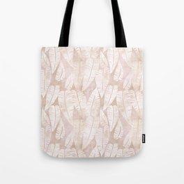 Island Goddess leaf Creme Tote Bag
