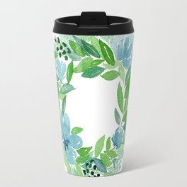 Summer Wreath - Four Seasons Series - Brilliant Travel Mug