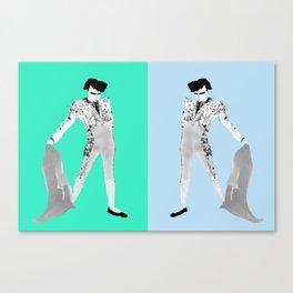 POMPADOUR Doubles Canvas Print
