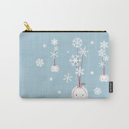 Snowflake Spoopy Carry-All Pouch