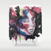 broken Shower Curtains featuring Broken by Christina Quackenbush