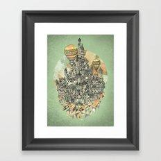 Emerald City Framed Art Print