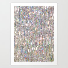 To Love Beauty Is To See Light (Crystal Prism Abstract) Art Print