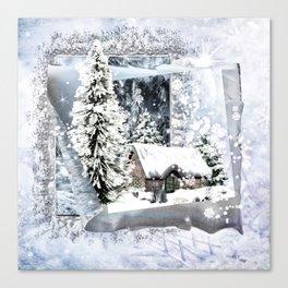 Winterwunderland Canvas Print