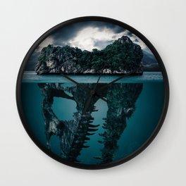 The World Below Wall Clock