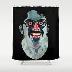 Portrait of Alonso Quijada Shower Curtain