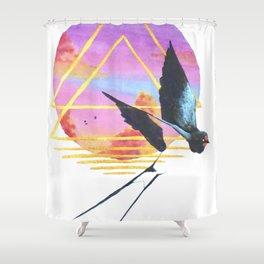 Flutter Shower Curtain