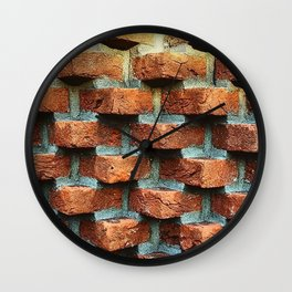 Bricks Wall Clock