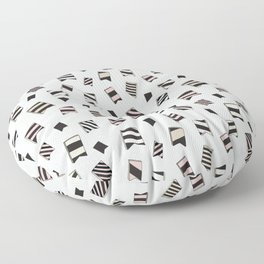 Badges Floor Pillow