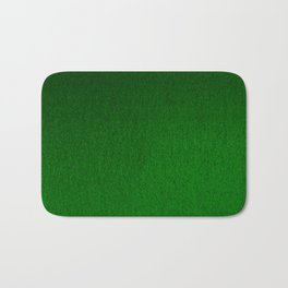 Emerald Green Ombre Design Bath Mat