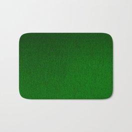 Emerald Green Ombre Design Bath Mat