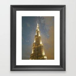 Burj Khalifa Framed Art Print