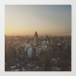 My Oh My, That City Sky Canvas Print