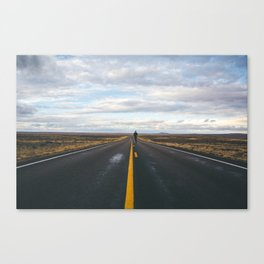 Explore The Open Road Canvas Print