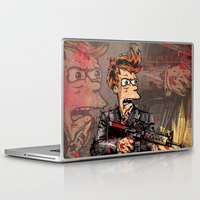 scarface Laptop & iPad Skins featuring Fryface by Beery Method