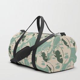 Stencil Faces Duffle Bag