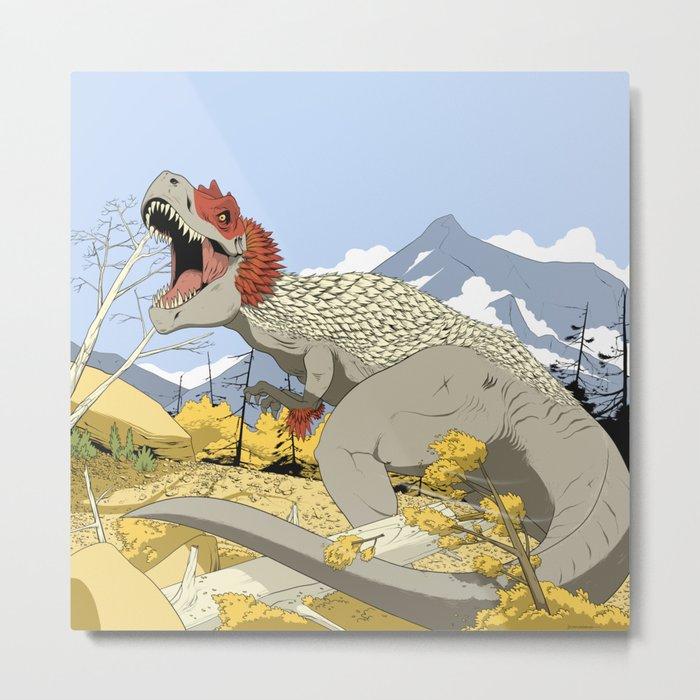 T-Rex Metal Print