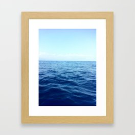A Drop In The Ocean Framed Art Print