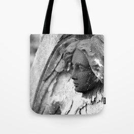Eroding Angel Tote Bag