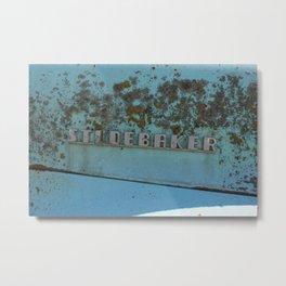 Rusted Studebaker Metal Print