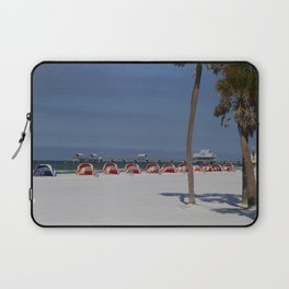 A November Day At Clearwater Beach Laptop Sleeve