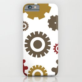 Steam Age Gears iPhone Case