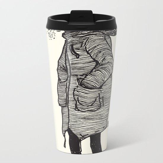 January Metal Travel Mug