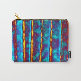 Blue and Orange Carry-All Pouch