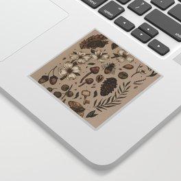 Nature Walks (Light Background) Sticker