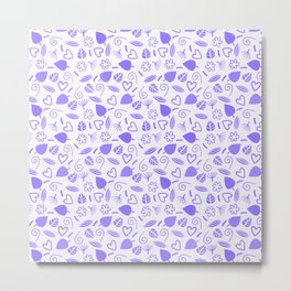 Lovely Pattern 9 Metal Print