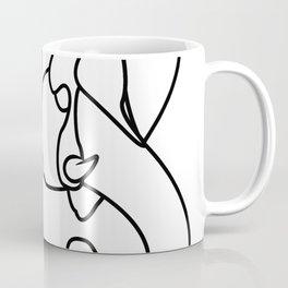 Geometric Elephant Head Coffee Mug