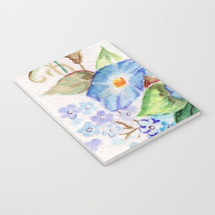Heavenly Blues Notebook